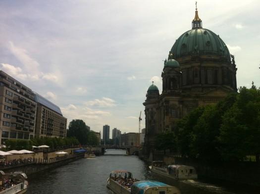 berlin museum island spree