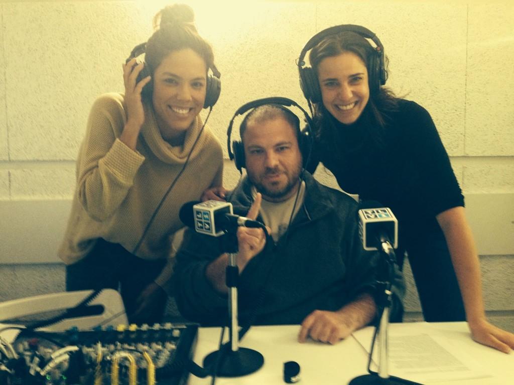 Ari with Moran Roth and Danielle