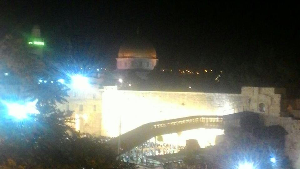 Har HaBayit at night