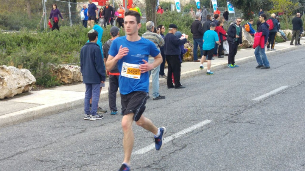 Itzik Karacik in Jerusalemites Running Together (Courtesy)