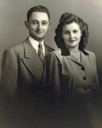 My grandparents, Mariam and Ephraim Heshel Einhorn.