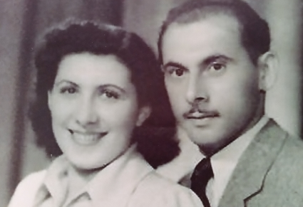 Rivka and Baruch Wessely