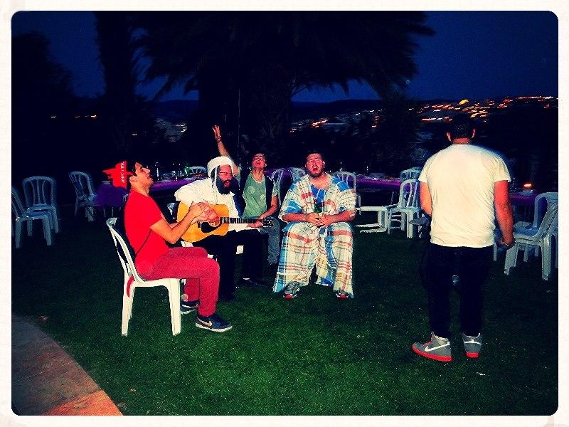 Purim Jam with the boys.