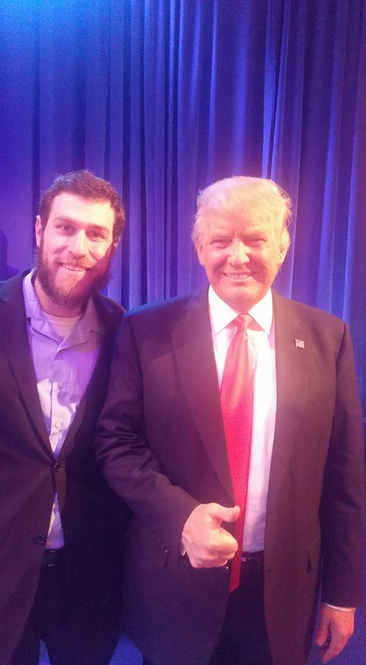 Me with Trump (April 2016)