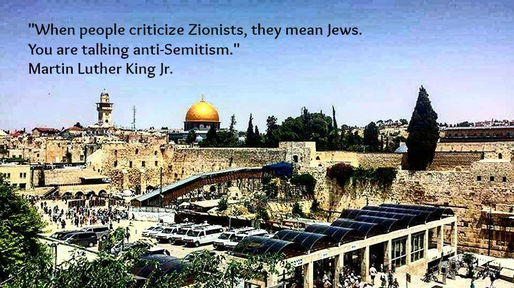 When people criticize Zionists