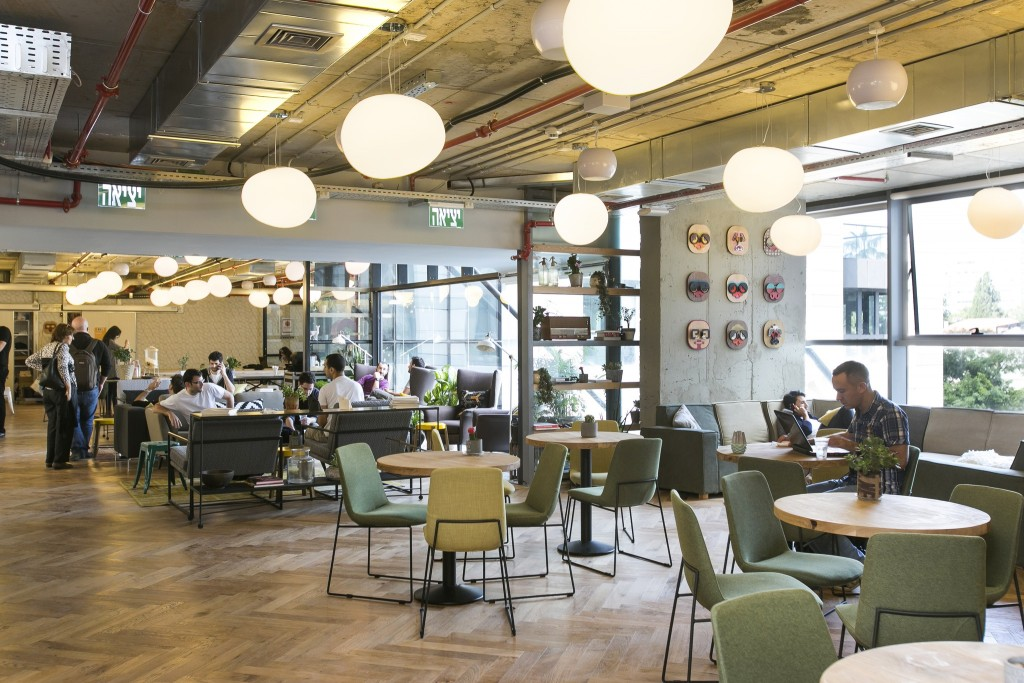 WeWork Sarona is the newest of many coworking office spaces in Tel Aviv (Source: WeWork)
