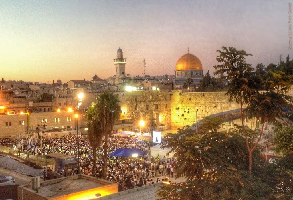 Our beautiful Jerusalem. Photo credit: Laura Ben-David