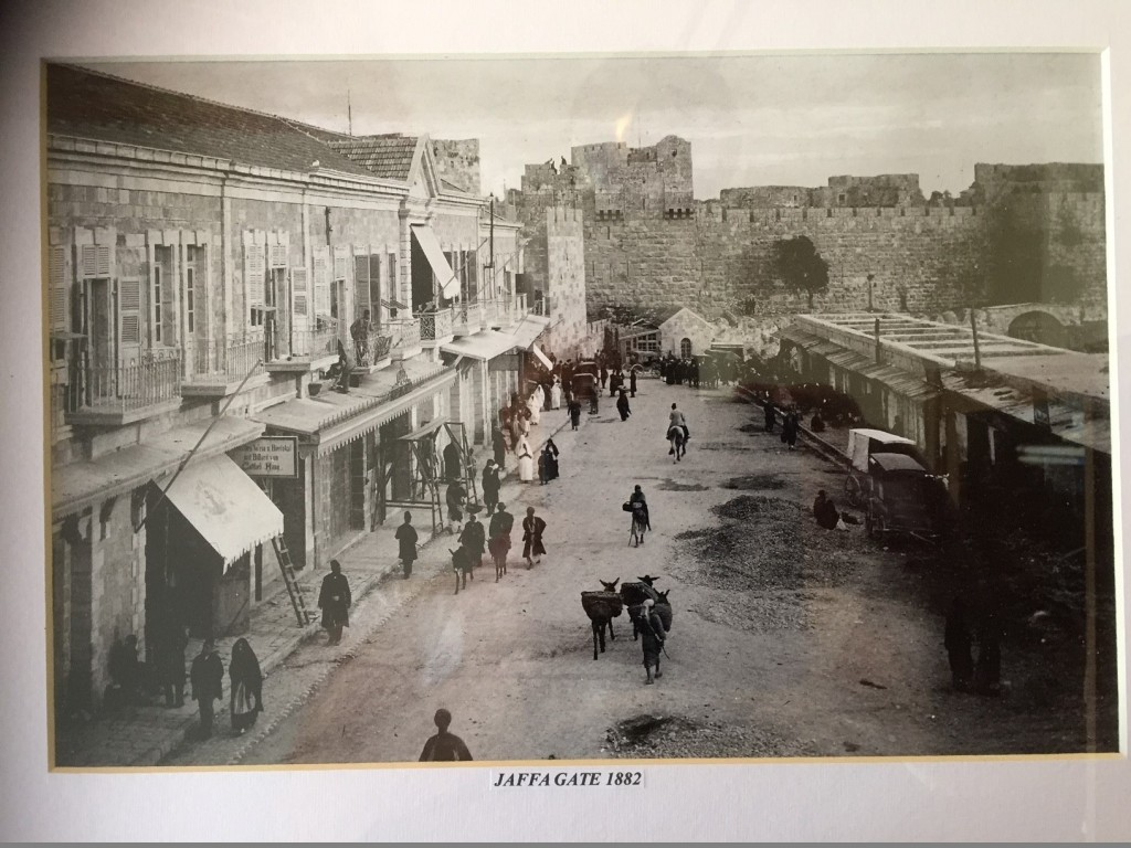 Jaffa Gate , Exterior, 1882