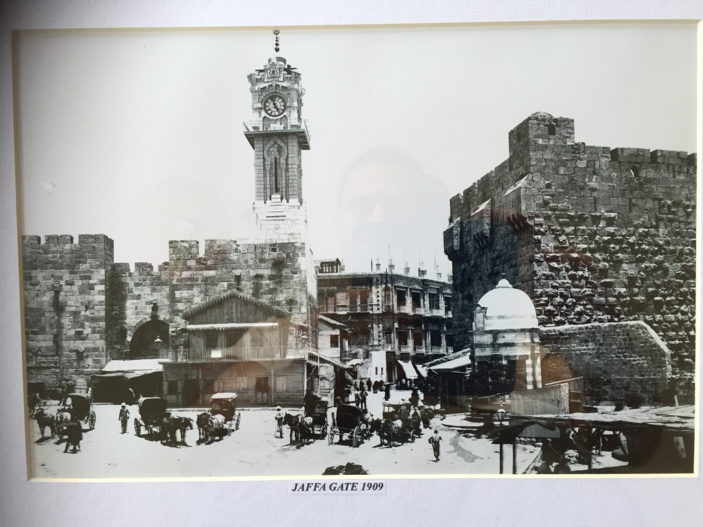 Jaffa Gate, Exterior, 1909