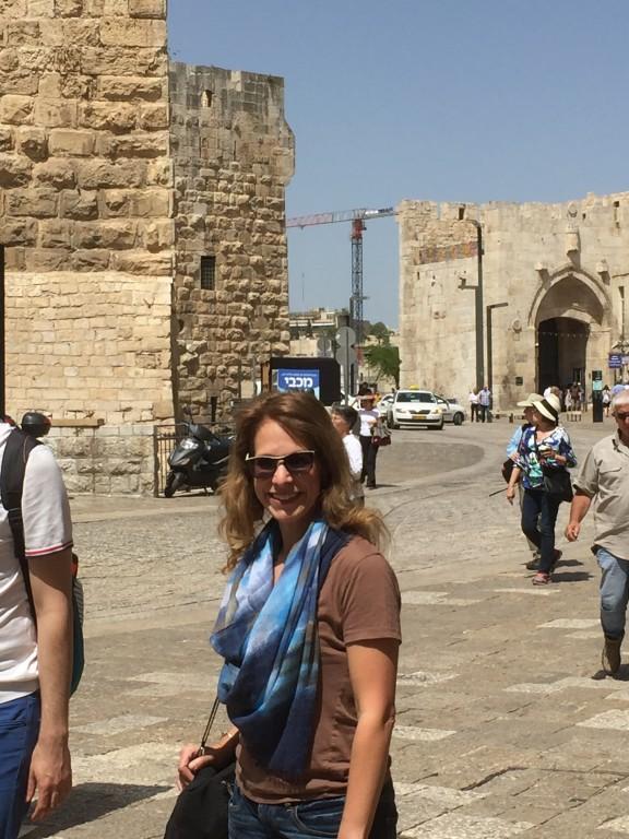 Jaffa Gate Inside 2016