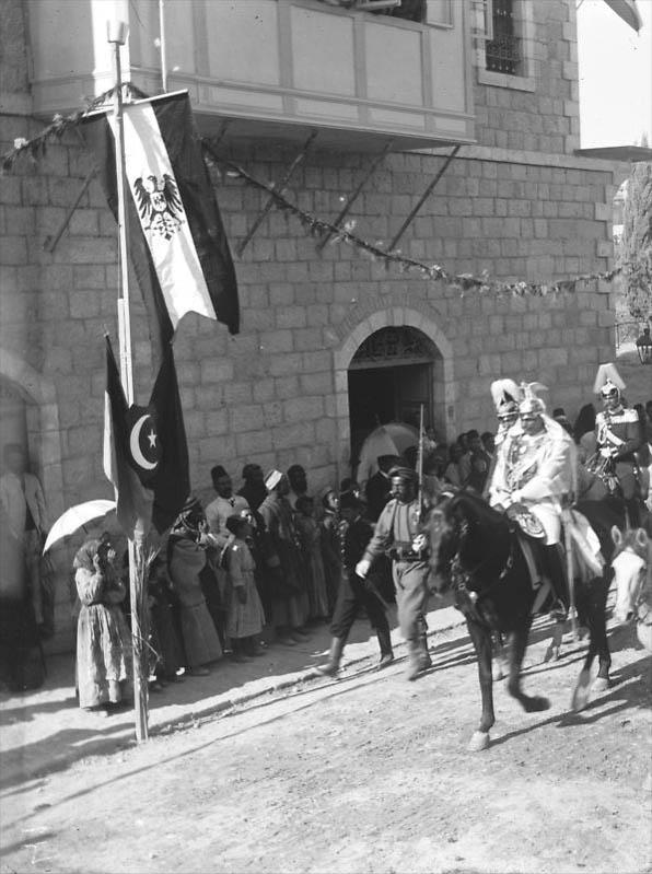 Kaiser Wilhelm II in Palestine