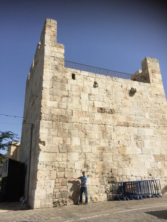 Side Wall Jaffa Gate
