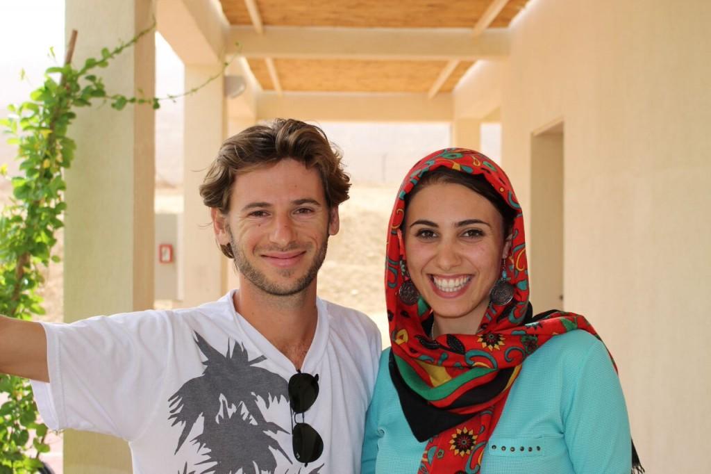 Israeli and Arab students at the Arava Institute.