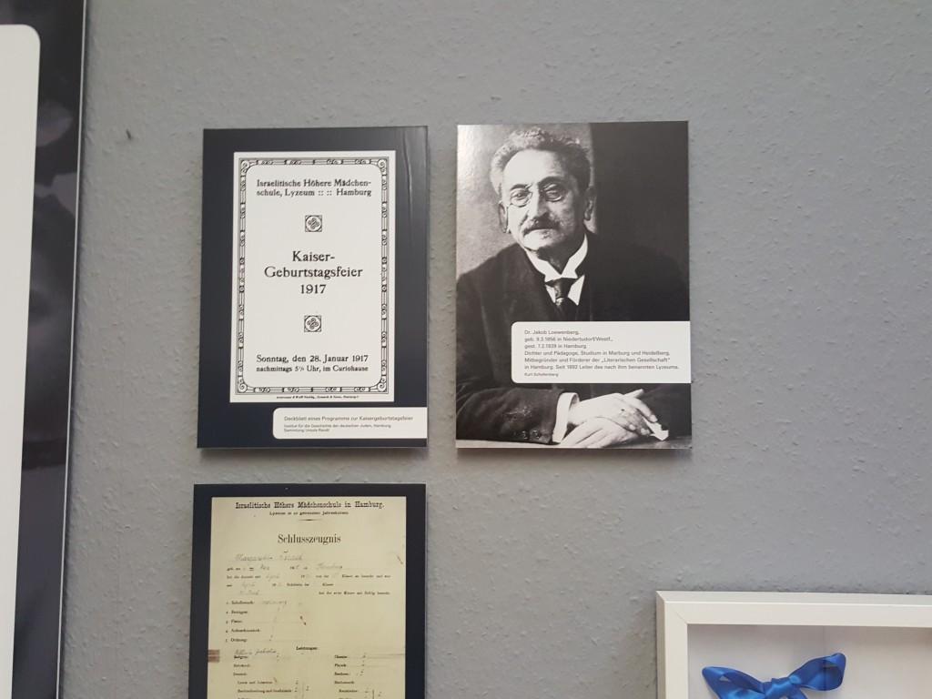 Jakob Loewenberg, my great-grandfather-exhibition on Jewish education in Hamburg