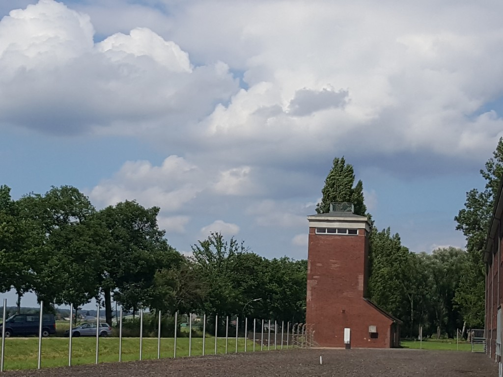 SS watchtower at Neuengamme