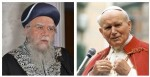 Chief Rabbi Bakshi Doron and Pope John Paul II; Waiting for their voice to be heard