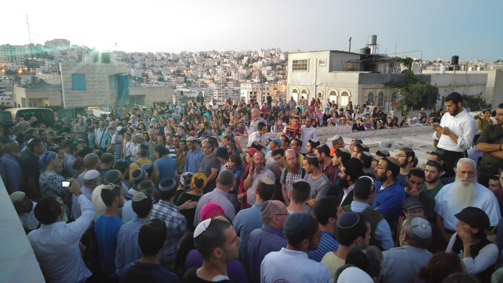 Funeral of Hallel Yafa Ariel in the Ancient Cemetery of Hebron