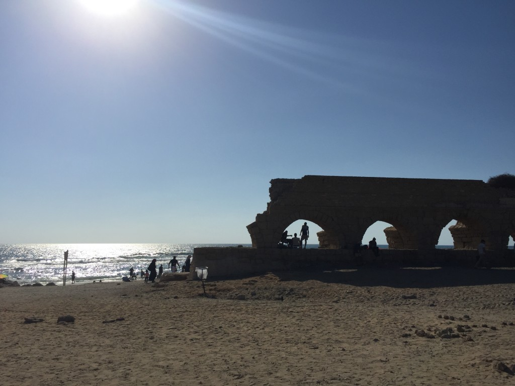 Beach near Pardes-Hanna, Israel