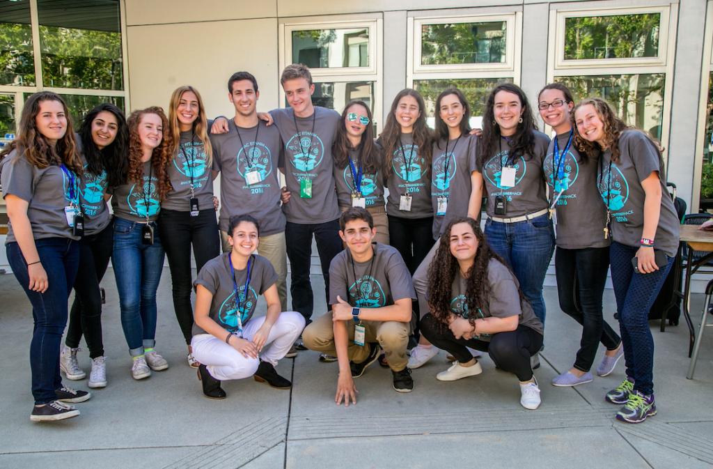 An IAC Eitanim Hackathon group. Photo credit: Bell Productions