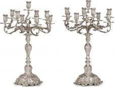 19th century Austrian 9-light candelabra. $35,000!!!