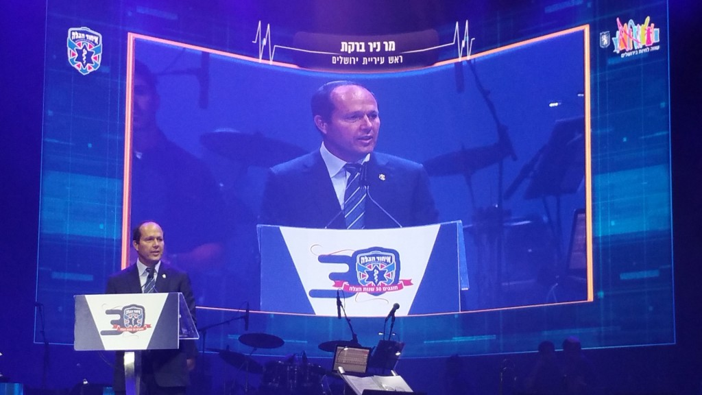 Jerusalem Mayor Nir Barkat expresses his admiration for the organization.