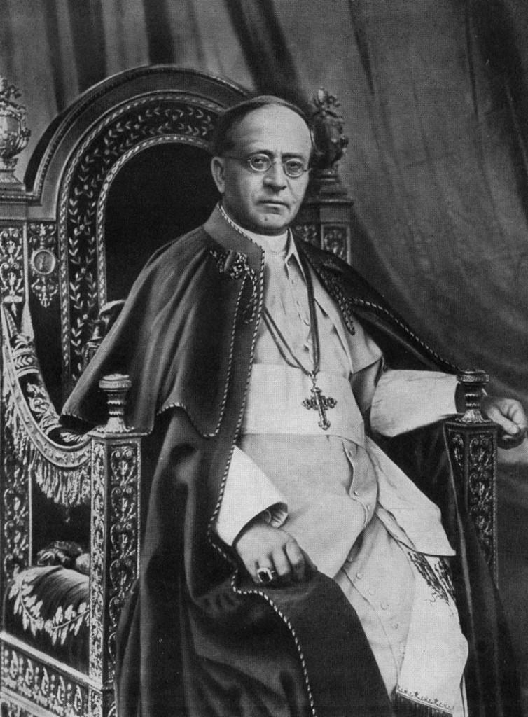 Pius XI in 1930 (public domain)