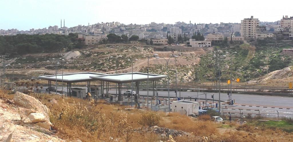 Checkpoint near Jerusalem, Nov. 2015