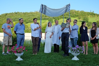 Wedding of Lev and Miriam, Camp Ramah, Ukraine, August 2016 (Vladimir Volt)