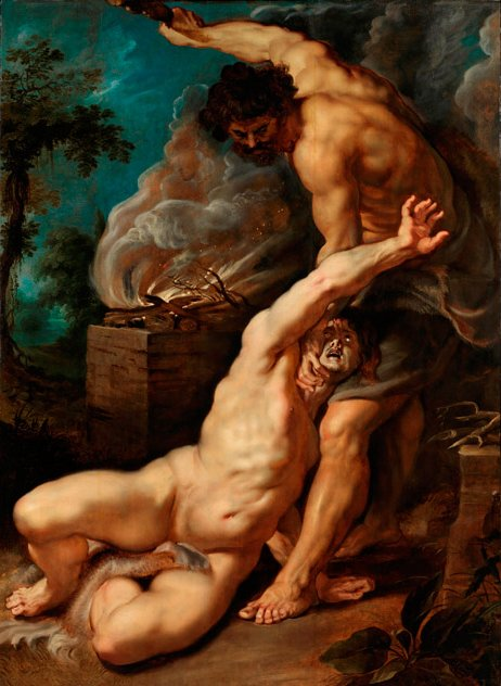 Cain Slaying Abel, By Peter Paul Rubens - The Courtauld Gallery, London, (Public Domain)