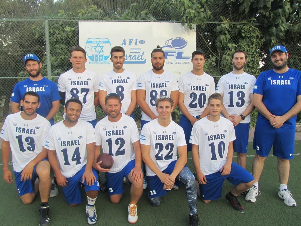Israeli men's flag football team