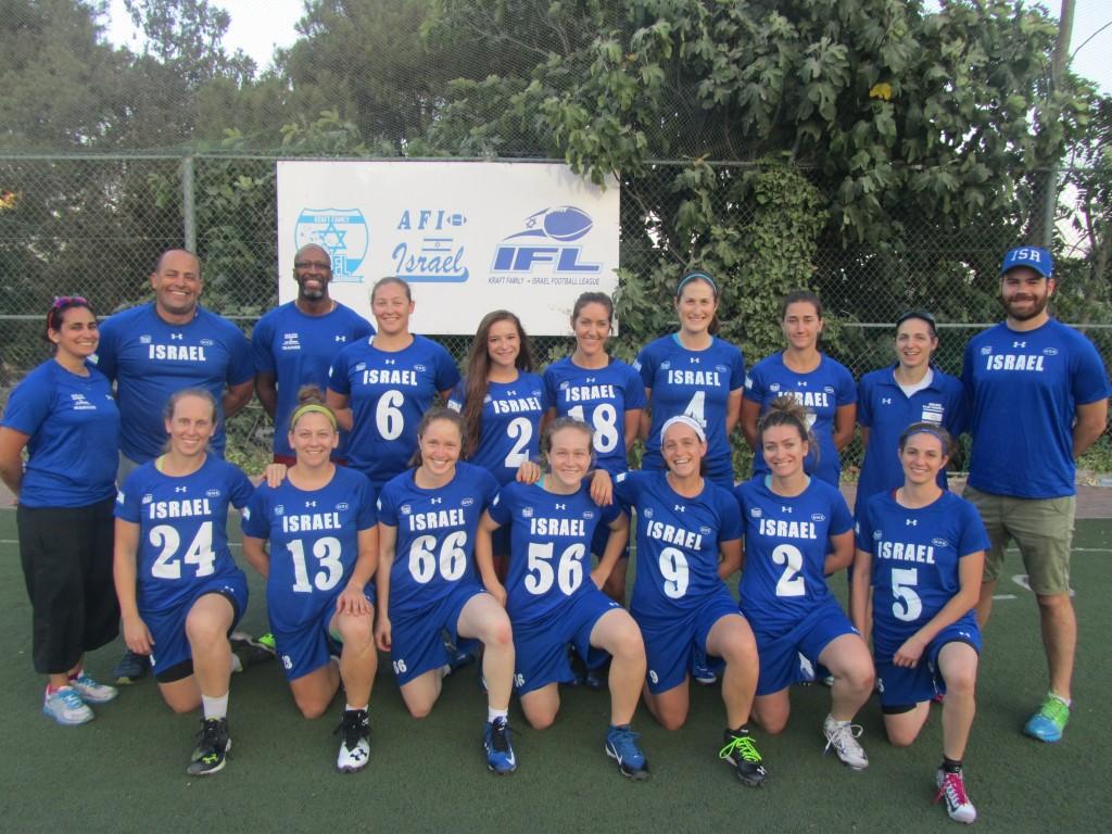 Israeli Women's Flag Football team
