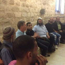 Muslims, Christians and Jews gather in Jerusalem for International Peace Day. Photo Peta Jones Pellach