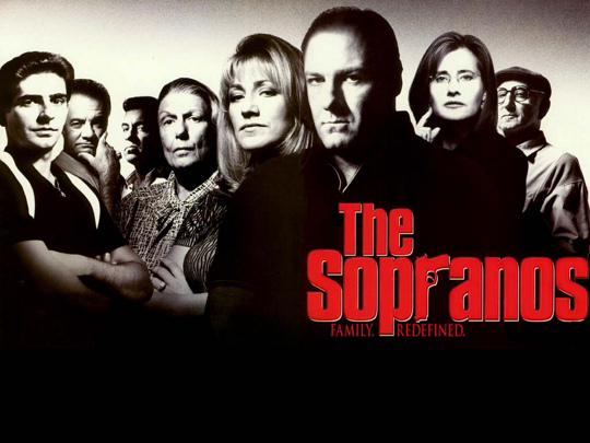 The Sopranos cast photo