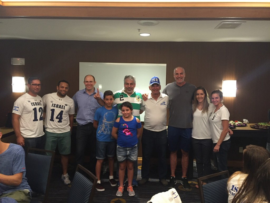 Consul, AIPAC head and Jewish former NFL׳er meet us in Miami