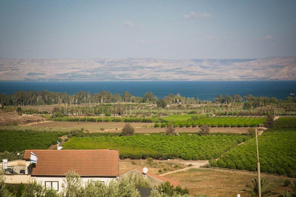 Overlooking the Sea of Galilee. (Nadav Ariel)