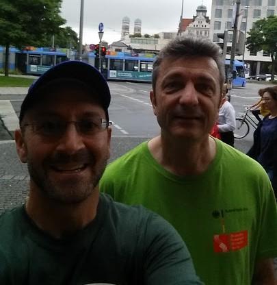 Rabbi David Lerner and Consul General Dr. Horlemann photo