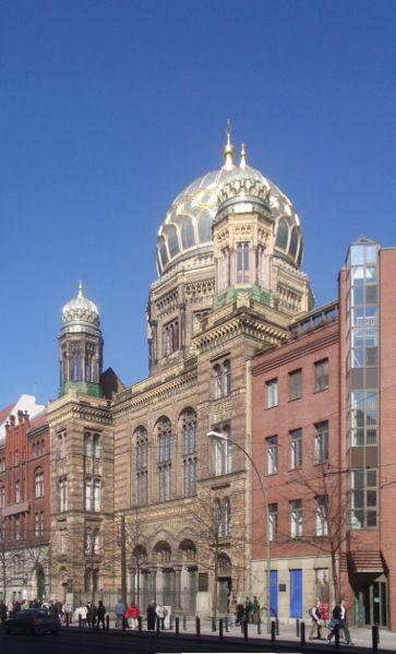 Oranienburger Strasse Synagogue photo