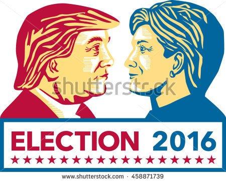 stock-vector-july-illustration-showing-republican-donald-trump-versus-democrat-hillary-clinton-face-458871739
