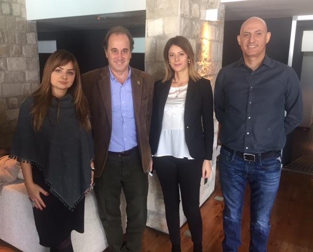 Meeting members of Civil Society in Montenegro.