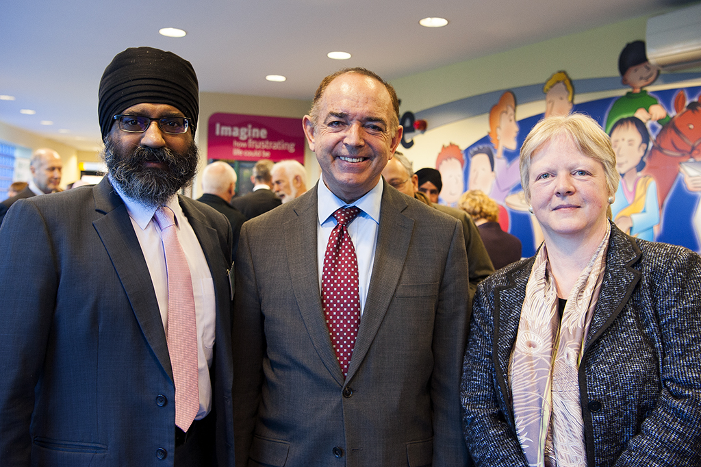 Jatinder Singh Birdi (a Co-Chair), Lord Bourne of Aberystwyth and Dr Harriet Crabtree (Inter Faith Network for the UK)