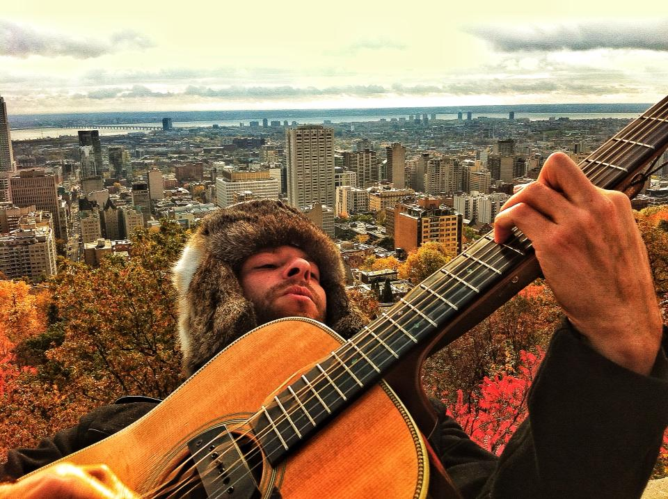 Looking for Leonard on tour in Montreal. Photo: Yaakov Lepon