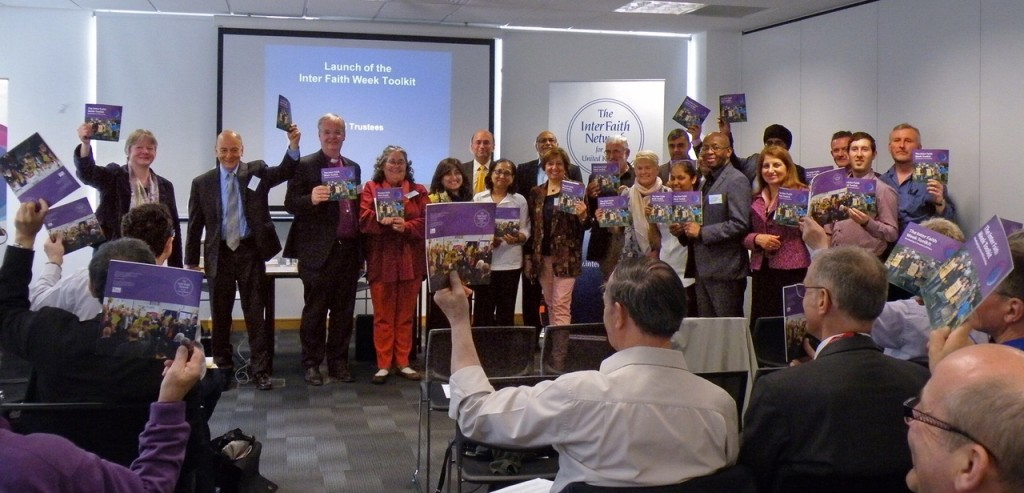 The launch of the Interfaith toolkit from this year.