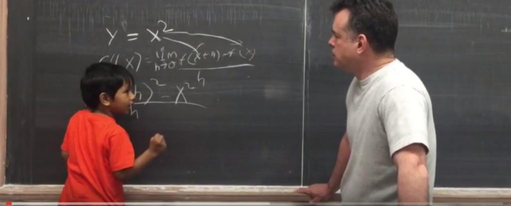 Dr. Brian Murphy interviews Isaac at Lehman College.