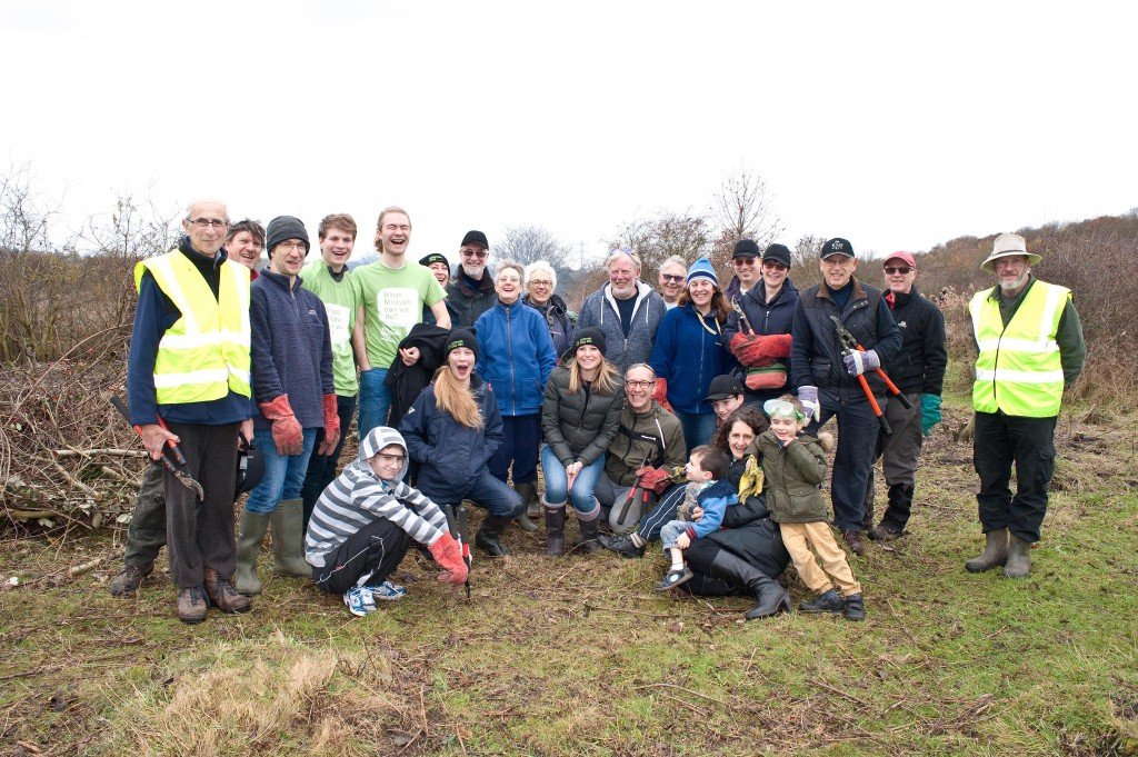 Northwood & Pinner Liberal Synagogue clean Croxley Common Moor on Mitzvah Day