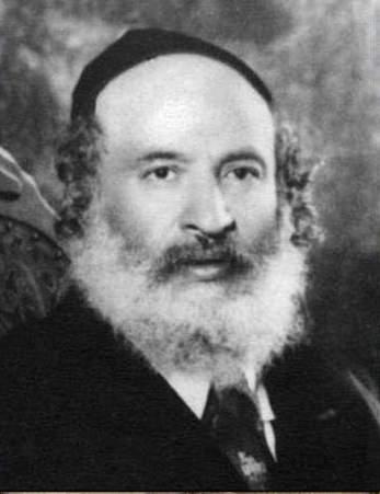 Rabi Shaul Yedidya Taub (Photo from Geni.com)