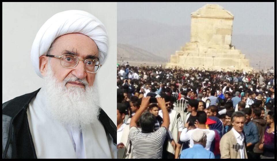 "Grand Ayatollah Hosein Nuri-Hamedani (born 1925) is an Iranian Twelver Shi'a Marja. Nuri-Hamadani has been called a ""hard-line cleric,"" who has expressed his strong disapproval of Sufis and dervishes, Jews, the intellectual Abdolkarim Soroush and the UN Convention on the Elimination of All Forms of Discrimination Against Women, according to Wikipedia."