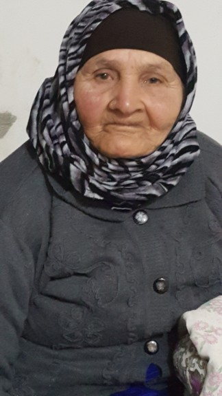 98 year old Amna Abu Al Qian