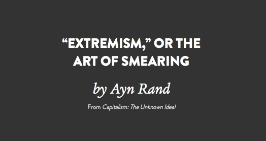 """""""Extremism_""""_or_The_Art_of_Smearing"""