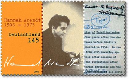 Hannah Arendt Stamp