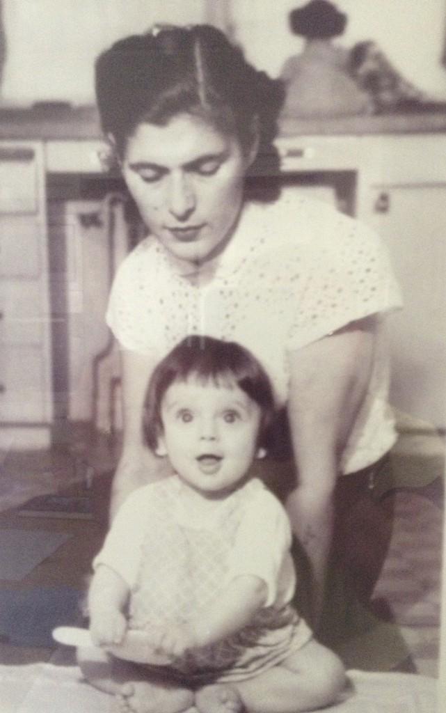The author and his mother, an Auschwitz/Birkenau survivor
